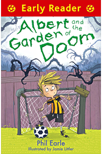 Albert and the Garden of Doom book cover