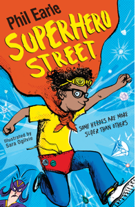 Superhero Street book cover