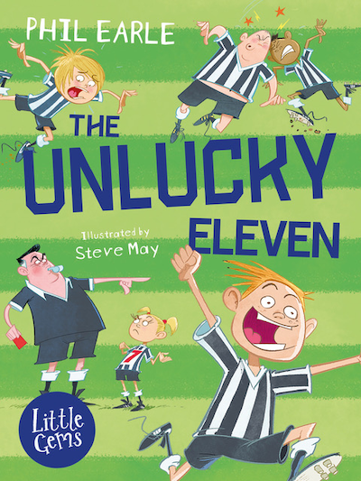 The Unlucky Eleven book cover